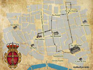 Itinerario procesión