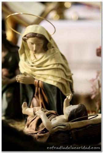 22 Bendición Belén y Misa Navidad (21 diciembre 2014)