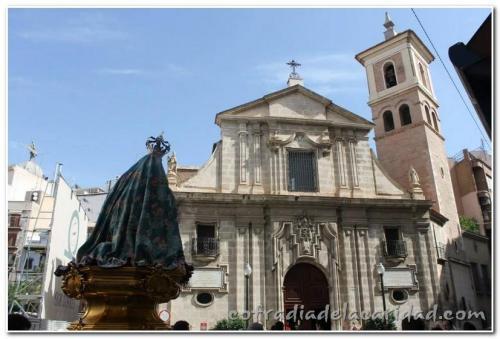 019 Rosario en San Antolín y Procesión Gloria 19 oct 2014