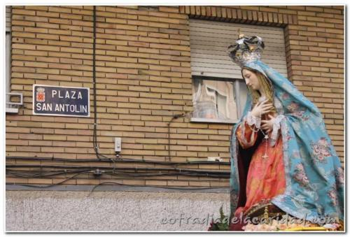 022 Rosario en San Antolín y Procesión Gloria 19 oct 2014