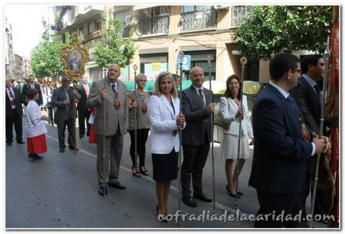 023 Rosario en San Antolín y Procesión Gloria 19 oct 2014