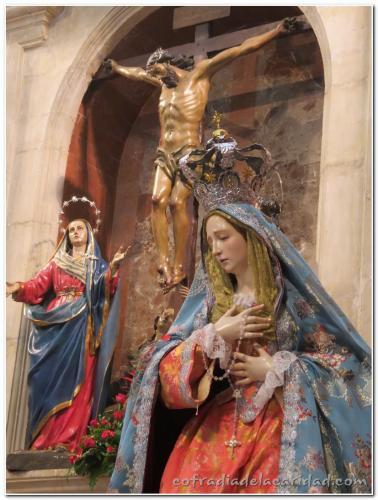 028 Rosario en San Antolín y Procesión Gloria 19 oct 2014