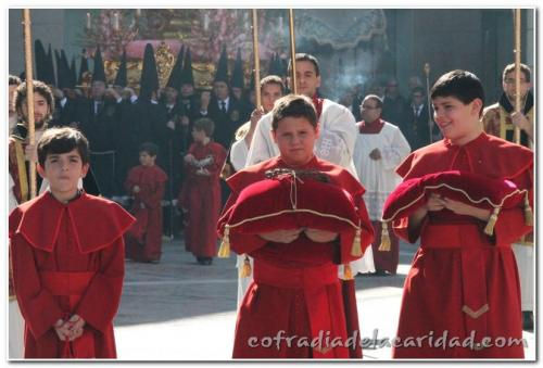 027 Procesión Sábado Santo (4 abr 2015)