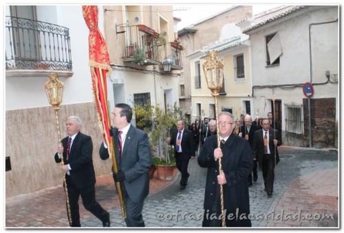 015 Hermanamiento Nazareno en Mula 2013