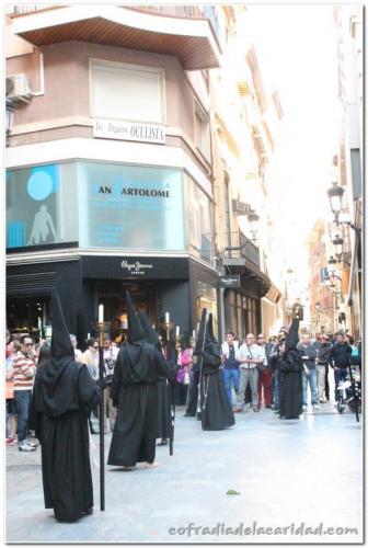 015 Procesión Sábado Santo 2013